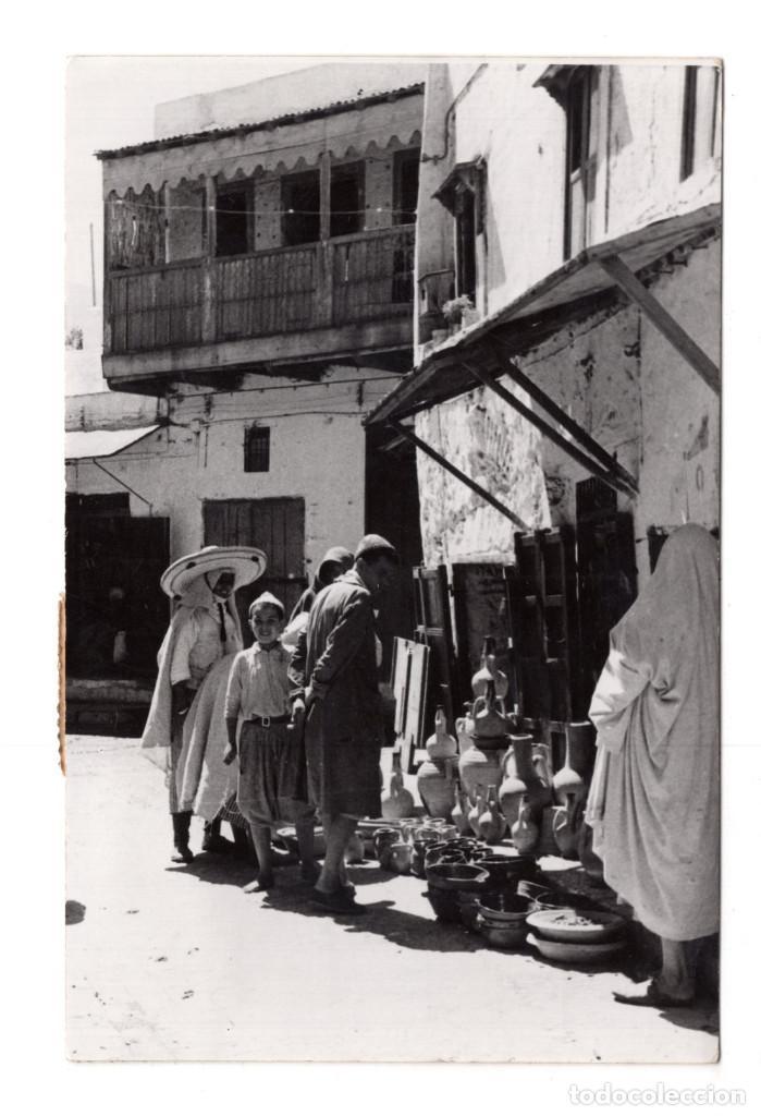 TETUAN - CALLE NIARIN - FOTO GARCIA CORTES (Postales - Postales Temáticas - Ex Colonias y Protectorado Español)