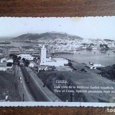 Postales: ANTIGUA POSTAL DE CEUTA. Lote 114792231