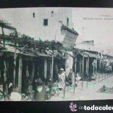 Postales: POSTAL DE TETUAN : RINCON DEL BARRIO MORO . ESCRITA POR MILITAR DE SANIDAD EN 1922. Lote 114938071
