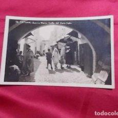 Postales: TARJETA POSTAL. TETUAN. MARRUECOS. BARRIO MORO. CALLE DEL ZOCO FOKI. . Lote 115144343
