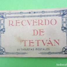 Postales: TACO DE 20 POSTALES RECUERDO DE TETUAN, VER FOTOS. Lote 116919123
