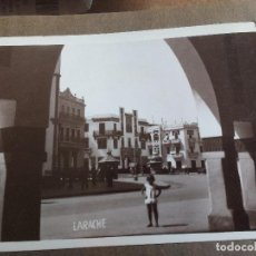 Postales: LARACHE, MARRUECOS, ANTIGUO PROTECTORADO ESPAÑOL, AÑO 1922. Lote 122865775