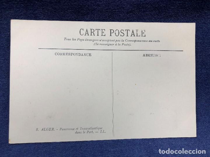Postales: Postal antigua Alger 8 panorama at Transatlantique sin circular ni escrita - Foto 2 - 123565711