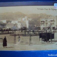 Postales: (PS-56946)POSTAL FOTOGRAFICA DE TETUAN-PLAZA DE ESPAÑA. Lote 124187427