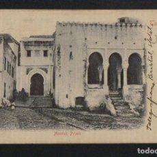 Postales: TANGIERS ( TANGER ).MOORISH PRISON.EDIT: J CARTWRIGHT.TANGIER.POSTÁ CIRCULADA EN 1902.. Lote 124557359