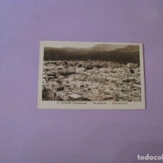 Postales: POSTAL DE TETUAN. VISTA GENERAL. ED. M. ARRIBAS. COLOR SEPIA. SIN CIRCULAR.. Lote 128181083