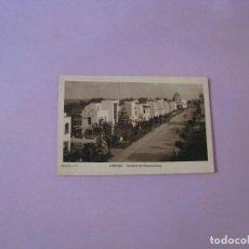 Postales: LARACHE. AVENIDA DEL GENERALÍSIMO. ED. CARMEN CREMADES. CIRCULADA. 1942. SELLO CENSURA POSTAL.. Lote 128182451