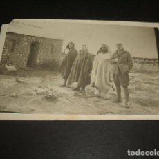 Postales: GUERRA DE TETUAN MARRUECOS ESPAÑOL 2 POSTALES FOTOGRAFICAS AÑOS 20. Lote 128879467