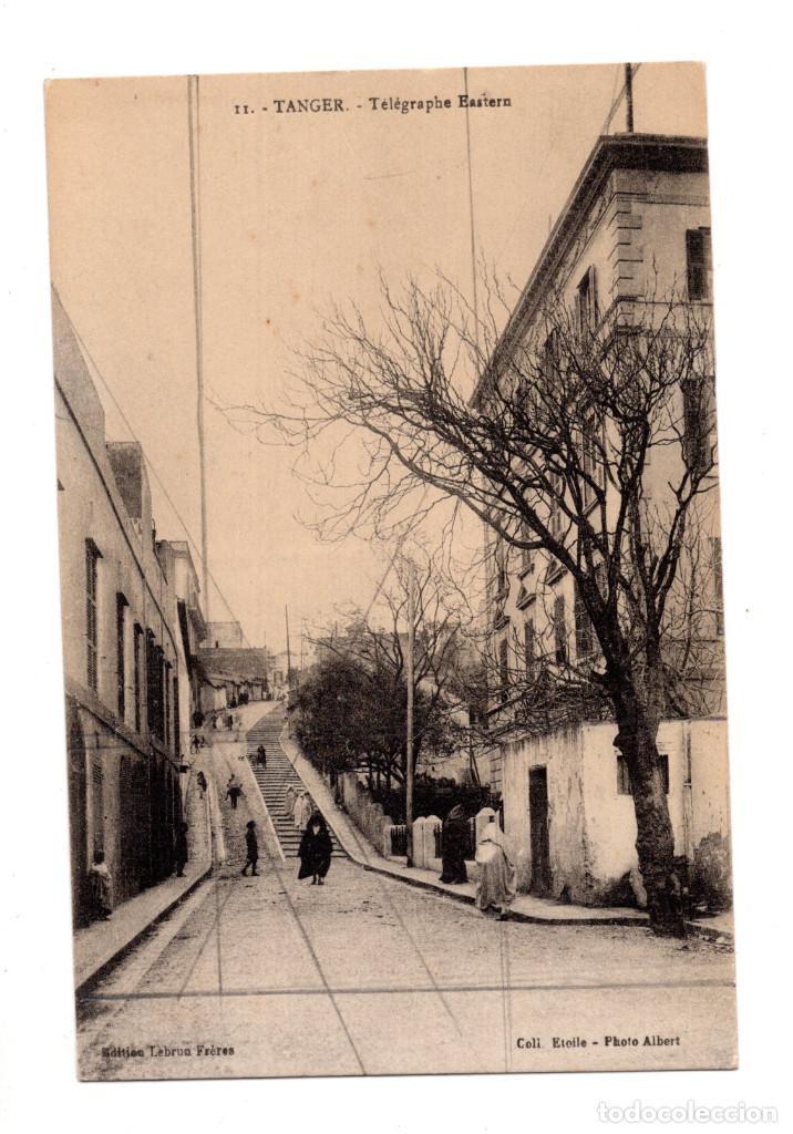 TANGER.- TELEGRAPHE EASTERN (Postales - Postales Temáticas - Ex Colonias y Protectorado Español)