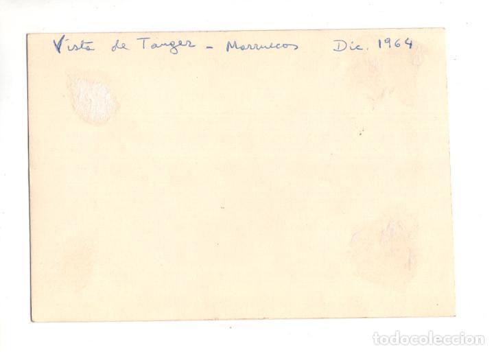 Postales: TANGER.- VISTA DE TANGER MARRUECOS 1964. FOTOGRAFICA - Foto 2 - 132249166