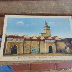 Postales: TARJETA POSTAL SIN CIRCULAR EDICION DIODORO XAUEN ALCAZAR MEZQUITA. Lote 134335182