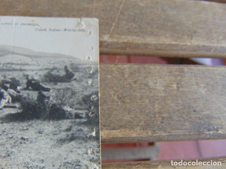 Postales: TARJETA POSTAL COLECCION ESTURILLO AMETRALLADORAS DEL TERCIO HACIENDO FUEGO SOBRE EL ENEMIGO COSTA - Foto 2 - 134369418
