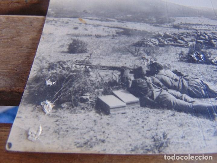 Postales: TARJETA POSTAL COLECCION ESTURILLO AMETRALLADORAS DEL TERCIO HACIENDO FUEGO SOBRE EL ENEMIGO COSTA - Foto 4 - 134369418