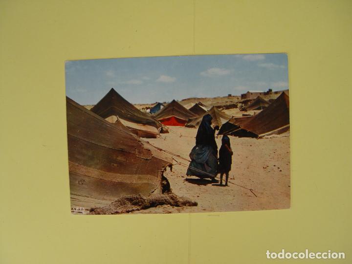 Postales: Lote de 4 tarjetas postales (1960's) SAHARA ESPAÑOL ¡Sin circular! ¡Originales! - Foto 4 - 137420754