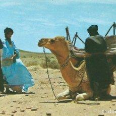 Postales: SAHARA. ALTO EN EL DESIERTO. DISTRIBUIDORA RABADAN. Lote 139545006