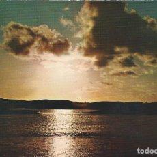 Postales: N. 20. AAIUN. SAHARA ESPAÑOL (AOE). PUESTA DE SOL EN LA SAGUIA ROJA. ED. FISA. Lote 139548514