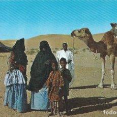 Postales: N. 6. AAIUN. SAHARA ESPAÑOL (AOE) SAHARAVIS. EDICIONES FISA. Lote 139549054