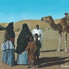 Postales: N.6 AAIUN. SAHARA ESPAÑOL (AOE). SAHARAVIS. EDICIONES FISA BARCELONA. Lote 139555822