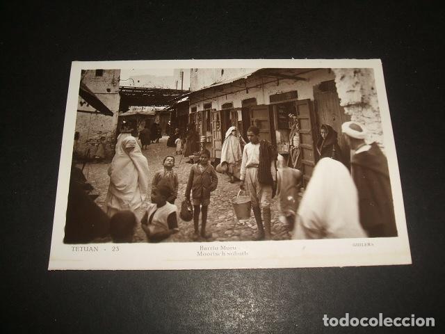 TETUAN BARRIO MORO (Postales - Postales Temáticas - Ex Colonias y Protectorado Español)
