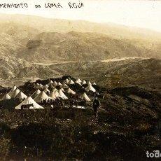 Postales: POSTAL CAMPAMENTO DE LOMA ROJA, RIFF - TIZZI ASSA - 1923 - SIN CIRCULAR. Lote 141873750