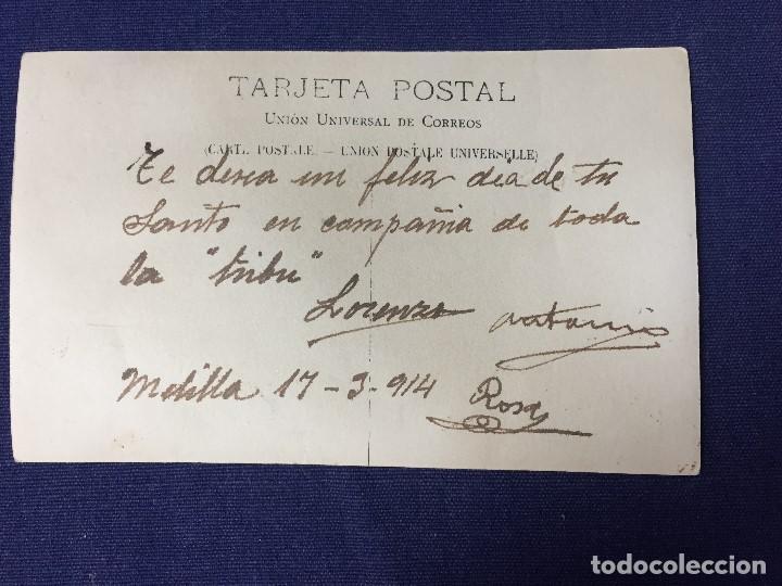 Postales: POSTAL MARRUECOS EX COLONIA PAISA YO ESTAR AMIGO POSTAL MODERNO BOIX HNOS MELILLA 1914 - Foto 2 - 141935034