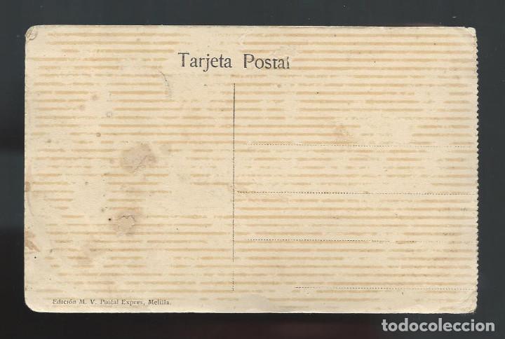 Postales: POSTAL. CAMPAÑA DEL RIF. 1921. MONTE ARRUIT. CAMIÓN BLINDADO QUE AVANZÓ DELANTE DE LAS TROPAS. - Foto 2 - 147667842