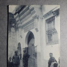 Postales: POSTAL - TETUAN - UN RINCÓN TÍPICO - PUERTA DE MEZQUITA - NUEVA. Lote 148396786