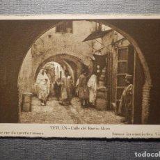 Postales: POSTAL - TETUAN - CALLE DEL BARRIO MORO - M. ARRIBAS - NUEVA - SIN CIRCULAR . Lote 148397058