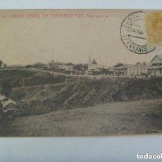 Postales: POSTAL DE SANTA ISABEL DE FERNANDO POO ( GUINEA ESPAÑOLA ) . CIRCULADA CON SELLO DE ALFONSO XIII. Lote 148527598
