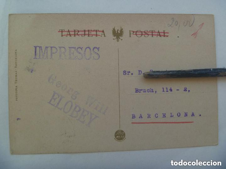 Postales: POSTAL DE SANTA ISABEL DE FERNANDO POO ( GUINEA ESPAÑOLA ) . CIRCULADA CON SELLO DE ALFONSO XIII - Foto 2 - 148527598