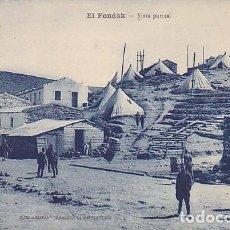 Postales: POSTAL TETUAN EL CAMPAMENTO Y EL FONDAK. Lote 151949010