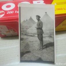 Postales: POSTAL MILITAR SOLDADO EN CAMPAMENTO DE SIDI IFNI AÑOS 30 MIREN FOTOS . Lote 152669462