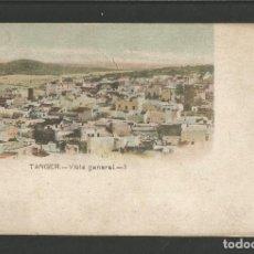 Postales: TANGER-VISTA GENERAL-BEVAN & Cº-REVERSO SIN DIVIDIR-POSTAL ANTIGUA-(57.470). Lote 153874698
