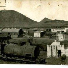 Postales: MELILLA- CUARTEL-VAGONES FERROCARRIL-FOTOGRÁFICA- RARA. Lote 155514090