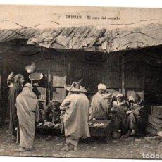 Postales: PS8128 TETUÁN 'EL ZOCO DEL PESCADO'. M.B. CIRCULADA. 1915. Lote 155758914