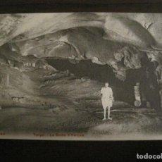 Postales: TANGER-LA GRUTA DE HERCULES-P.Z. 10691-VER FOTOS-(58.563). Lote 159276962