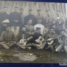 Postales: FOTO POSTAL MARRUECOS. BANDA MÚSICA.1914. Lote 159648106