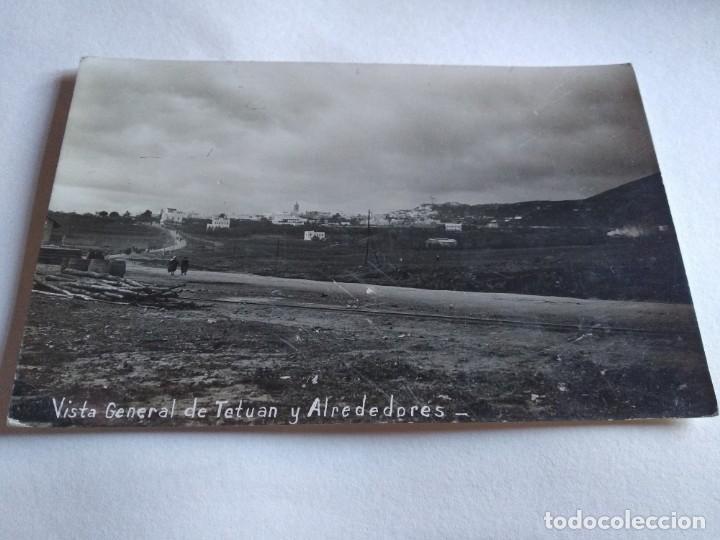 VISTA GENERAL DE TETUÁN Y ALREDEDORES. GUERRA DEL RIF (Postales - Postales Temáticas - Ex Colonias y Protectorado Español)