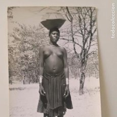 Postales: ANGOLA - INDIGENAS DO SUL - POSTAL GEVAERT 1950'S // COLONIAS PORTUGAL AFRICA NATIVE BUSTY NUDE GIRL. Lote 164233518