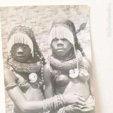 Postales: ANGOLA - POSTAL FOTO SPORT 1950'S // LUANDA NATIVE AFRICA BUSTY NUDE GIRLS COLONIAS PORTUGAL. Lote 164236586