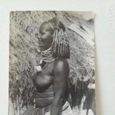 Postales: ANGOLA - POSTAL FOTO SPORT 1950'S // LUANDA NATIVE AFRICA BUSTY NUDE ETHNIC TRIBAL PORTUGAL. Lote 164240130