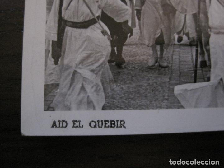 Postales: AID EL QUEBIR-POSTAL FOTOGRAFICA GARCIA GORTES-SELLO CORREO AEREO MARRUECOS-VER FOTOS-(59.358) - Foto 2 - 164611042