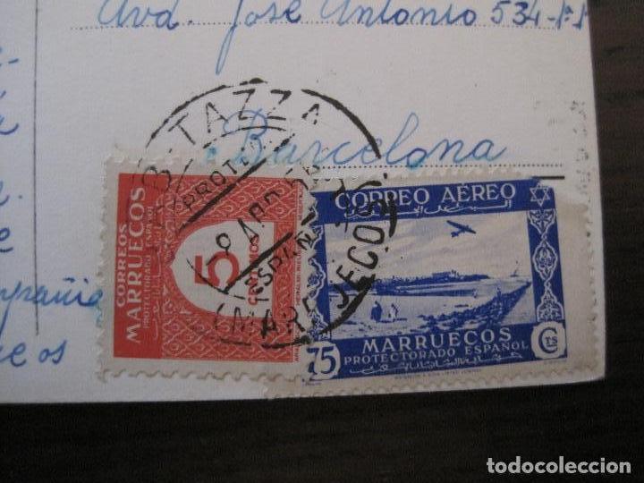 Postales: AID EL QUEBIR-POSTAL FOTOGRAFICA GARCIA GORTES-SELLO CORREO AEREO MARRUECOS-VER FOTOS-(59.358) - Foto 5 - 164611042