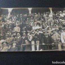 Postales: TANGER MARRUECOS ESPAÑOL PUBLICO EN LA PLAZA DE TOROS POSTAL FOTOGRAFICA. Lote 165031678