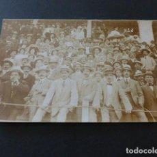 Postales: TANGER MARRUECOS ESPAÑOL PUBLICO EN LA PLAZA DE TOROS POSTAL FOTOGRAFICA. Lote 165031786