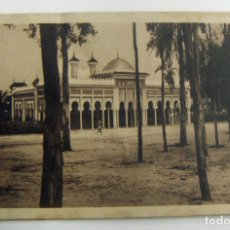 Postales: POSTAL - PALACETE DEL GRUPO DE REGULARES CIRCULADA CON SELLO DEL PROTECTORADO ESPAÑOL 35 CTS. Lote 166084846