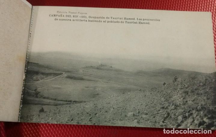 Postales: Block Recuerdo de la Campaña de el Rif 1921 Tauriat - Hamed, Kaddur y Taxarud Serie XIV - Foto 4 - 166601650