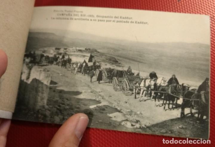 Postales: Block Recuerdo de la Campaña de el Rif 1921 Tauriat - Hamed, Kaddur y Taxarud Serie XIV - Foto 7 - 166601650