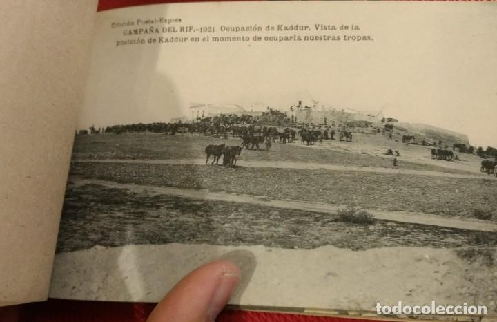 Postales: Block Recuerdo de la Campaña de el Rif 1921 Tauriat - Hamed, Kaddur y Taxarud Serie XIV - Foto 8 - 166601650