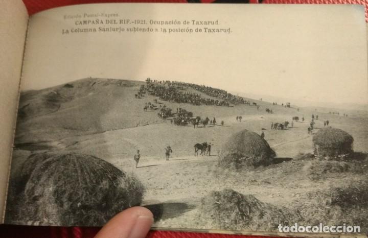 Postales: Block Recuerdo de la Campaña de el Rif 1921 Tauriat - Hamed, Kaddur y Taxarud Serie XIV - Foto 9 - 166601650